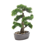 Bonsai artificial decorativ in ghiveci ceramic - 45 cm